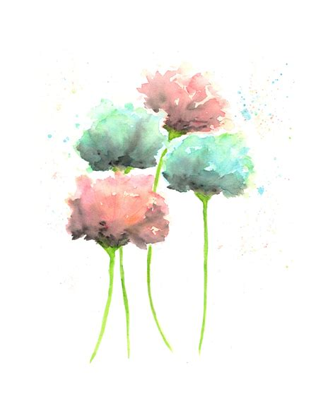 watercolor paint images country cottage decor watercolor flowers watercolor