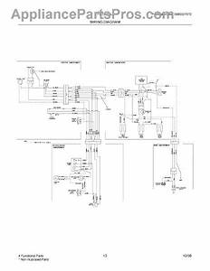 Parts For Frigidaire Frt21il6jw2  Wiring Diagram Parts