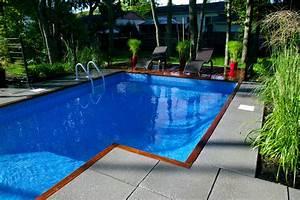 Photo D Amenagement Piscine : prolongez vos vacances avec une piscine creus e ~ Premium-room.com Idées de Décoration