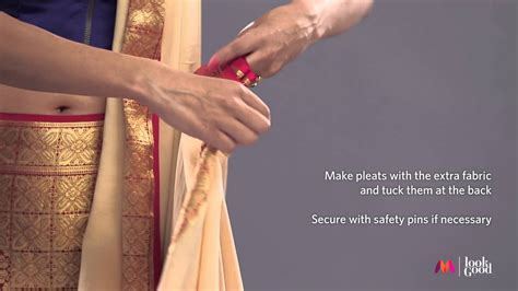 How To Drape Saree Perfectly - how to drape a saree perfectly part 3 s style
