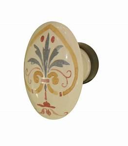 bouton meuble ovale florence porcelaine de limoges With entree de cle pour meuble 11 poignee de porte 1001poignees votre specialiste de la
