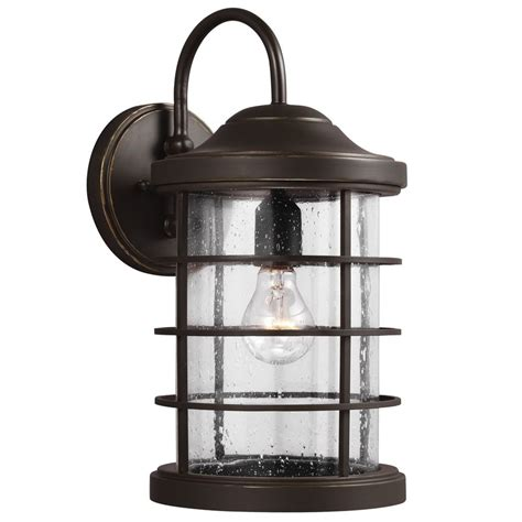 sea gull lighting sauganash antique bronze outdoor wall