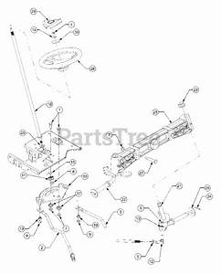 Cub Cadet Parts On The Steering Diagram For 1525  13a