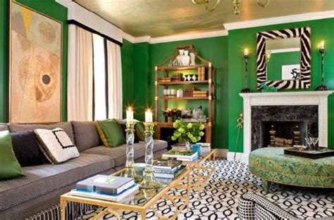emerald green room contemporary living room sherrill canet