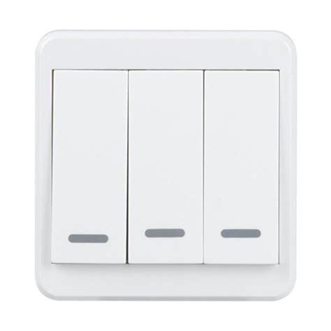 uk wifi wall light switch 3 remote