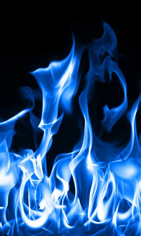 blue fire  wallpaper  apk   android