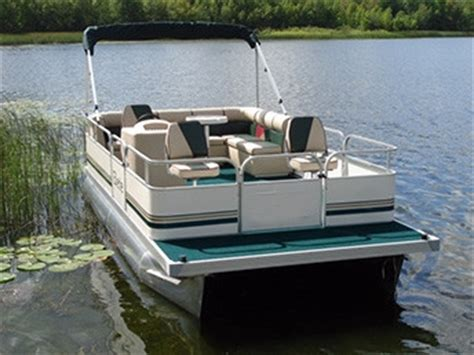 Pontoon Boat Under Seat Lights by 19 Ft Fishing Crusing Pontoon Boat W 23 Quot Tubes Front