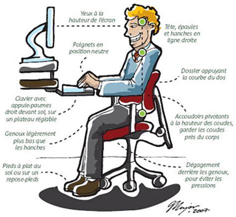 support lombaire bureau ergonomique devant l ordi châtelaine