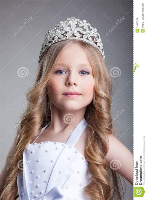 gorgeous  girl  crown royalty  stock