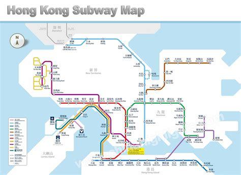 carte de hong kong carte touristique  hong kong