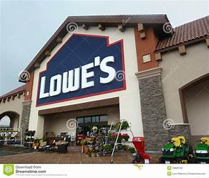 Lowe's Home Improvement Store Editorial Image - Image of ...