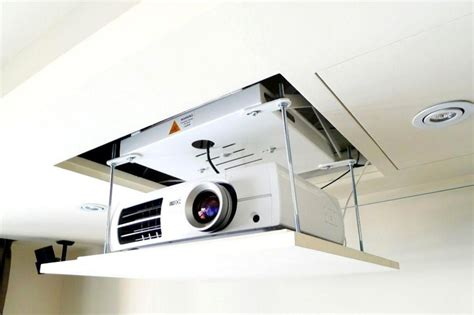 Ceiling Projector Mount Motorized by Telon Motorized Projector Lift With Remote