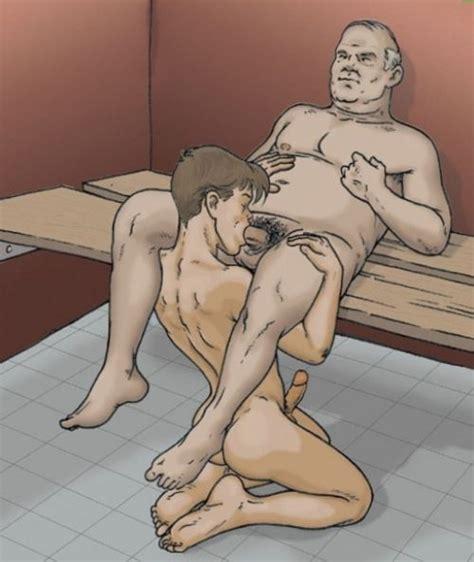 Gay Bdsm Cartoons Cumception