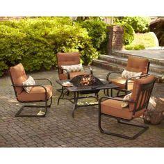 hton bay redwood valley 5 patio pit seating