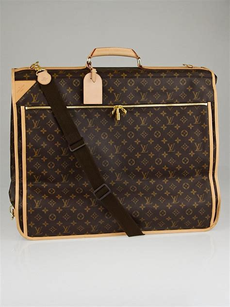 louis vuitton monogram canvas garment carrier bag