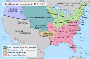 Missouri Compromise Line Map