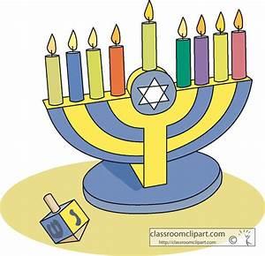 Hanukkah Clipart- chanukah_menorah_07 - Classroom Clipart