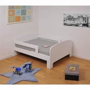 toby lit enfant evolutif 90x140 200 cm matelas blanc With tapis enfant avec discount canapé lit