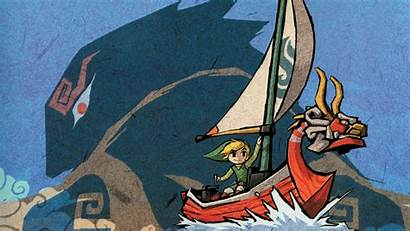 Link Toon Zelda Backgrounds Waker Wind Legend