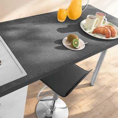 revetement adhesif pour plan de travail de cuisine plan de travail stratifié en gris ardoise castorama