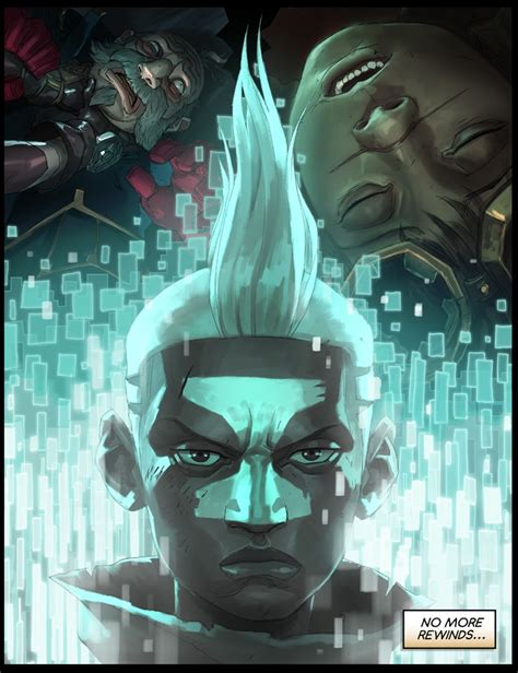 surrender   ekko chronobreak comic