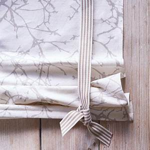 Raffrollo Selber Nähen Anleitung Ikea : raffrollo mit schlaufe selber n hen eine anleitung n hen wohnaccessoires ~ Orissabook.com Haus und Dekorationen