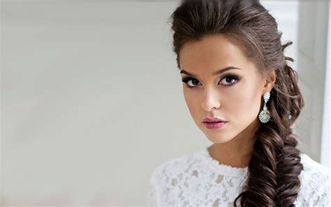eleganter zopf wedding inspiration frisuren