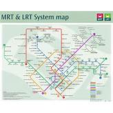 New MRT map... updated with Downtown Line | Singapore's Land Transport
