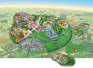 Disneyland Resort Paris Map