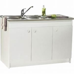 Meuble Sous Evier 90 Cm : meuble sous evier 90 cm maison design ~ Dailycaller-alerts.com Idées de Décoration