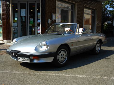1985 Alfa Romeo Duetto Spider 1.6 By Gladiatorromanus On