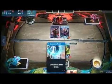 gameplay dota card artifact dota card preview gameplay 1 youtube