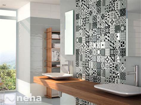 faience cuisine et blanc davaus faience salle de bain moderne tunisie avec