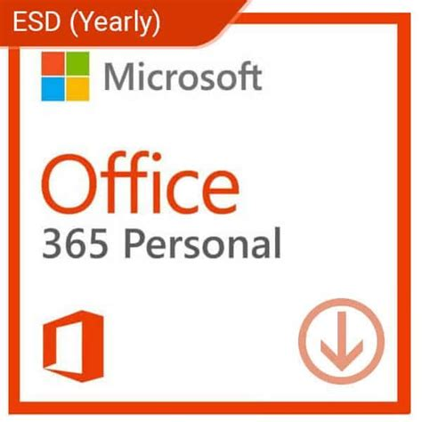 Office 365 Yearly by Microsoft Office 365 Personal Yearly Subscription