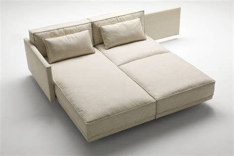 topper canapé divano letto componibile di design dennis