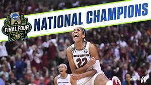 NCAA Women's Basketball National Championship Overnight Up ...
