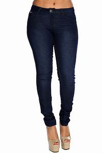 Dark Blue Denim Skinny Jeans