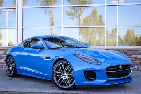 New 2018 Jaguar Ftype Rdynamic 2dr Car In Lynnwood