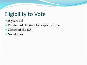 PPT - Voting PowerPoint Presentation - ID:2689626