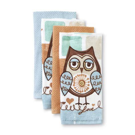 owl bathroom set kmart microfiber kitchen towels sears