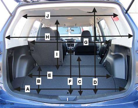 dimensions  cargo space  ford escape