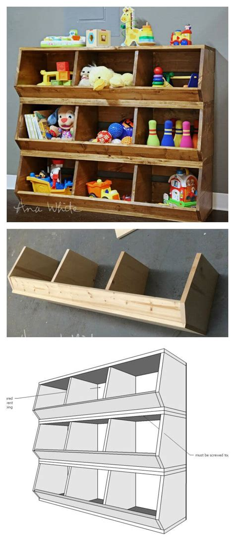 diy rustic storage projects ideas  designs