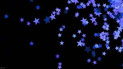 Stars Background Desktop Star Purple Wallpapers Moon