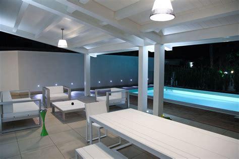 veranda legno veranda in legno lamellare laccato per arredo zona living