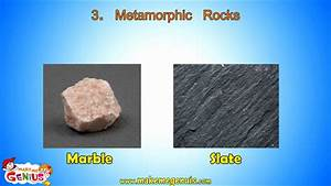 Metamorphic Rocks video for kids by makemegenius.com - YouTube