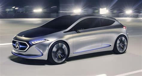Compact Electric Cars by Mercedes Eqa Compact Electric Car Will Be Made In