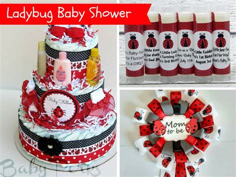 Ladybug Baby Shower Decorations And Party Favors Baby