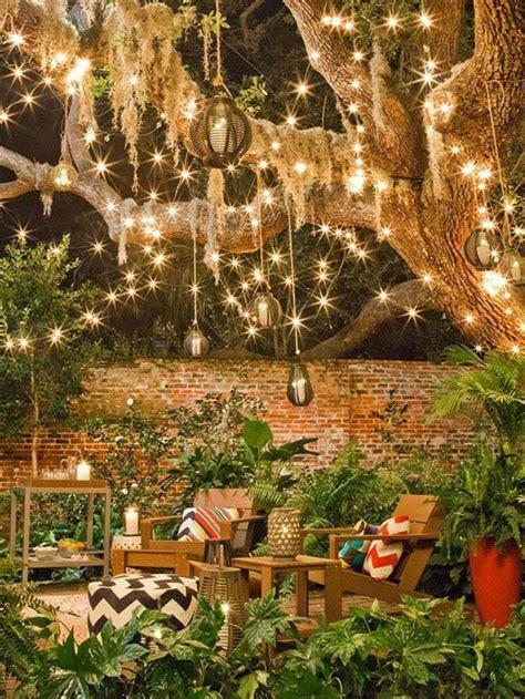 guirlande lumineuse jardin comment choisir les luminaires ext 233 rieurs enchanting