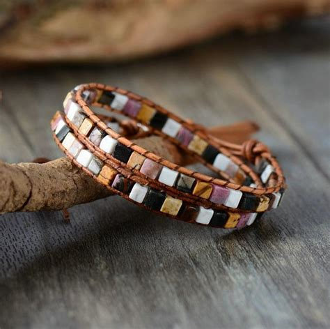 handmade bohemian wrap bracelet