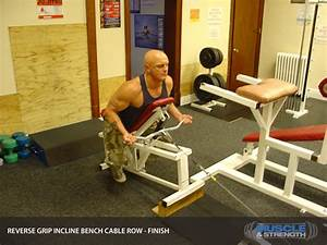 Reverse Grip Incline Bench Cable Row Video Exercise Guide